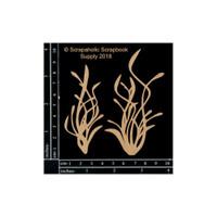 Scrapaholics - Laser Cut Chipboard - Sea Grass 2 (S49309)
