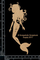Scrapaholics - Laser Cut Chipboard - Floating Mermaid (S49910)