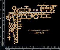 Scrapaholics - Laser Cut Chipboard - Junkyard Corner (S51272)
