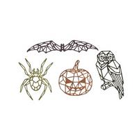 Sizzix - Tim Holtz - Framelits Dies - Geo Halloween (664208)