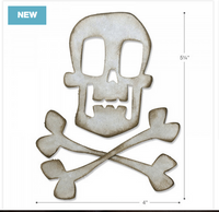 Sizzix - Tim Holtz - Bigz Dies - Skull and Crossbones (664215)
