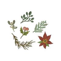 Sizzix - Tim Holtz - Framelits Dies - Large Funky Floral (664221)