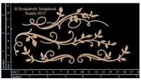 Scrapaholics - Laser Cut Chipboard - Leafy Flourish 2 (S50206)