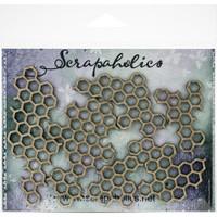 Scrapaholics - Laser Cut Chipboard - Honey Comb Pieces (S50404)