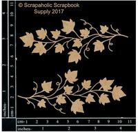 Scrapaholics - Laser Cut Chipboard - Ivy Vine Spray (S51289)