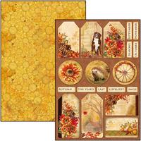 Ciao Bella - Creative Pad A4  9/Pkg - Sound of Autumn