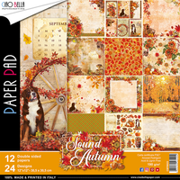 Ciao Bella - Double-Sided Collection 12x12 - Sound of Autumn (CBPM023)