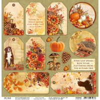 Ciao Bella - Double-Sided Cardstock 12x12 - Tags (CBSS080)