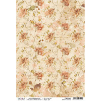 Ciao Bella - Decoupage Rice Paper Sheet - The Muse - Breathe Darling (CBRP061)