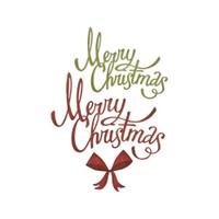 Sizzix - Tim Holtz - Framelits Dies - Christmas Ribbon (664196)