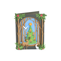 Courtney Chilson- Thinlet Dies - Christmas Shadow Box (663611)