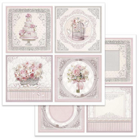 Stamperia - Double-Sided Cardstock 12x12 - Wedding Cards (SBB626)
