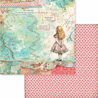 Stamperia - Scrapbooking 8x8 Collection Pack - Alice (SBBS01)