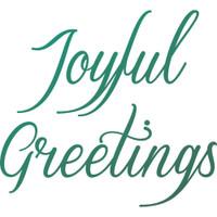 Couture Creations - Mini Stamp Set - Naughty Or Nice - Joyful Greetings (CO726916)