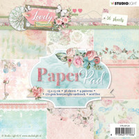 Studio Light - Paper Collection 6x6 - Collection 2 - Lovely Moments (PPLM124)