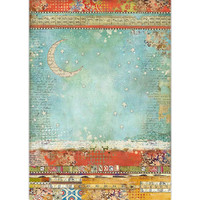 Stamperia - Decoupage Rice Paper A3- Make A Wish - Moon (DFSA3043)