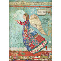 Stamperia - Decoupage Rice Paper A4 - Make A Wish - Angel (DFSA4407)