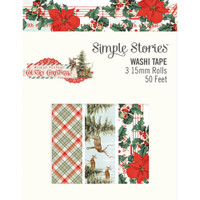 Simple Stories - Washi Tape 3/Pkg - Country Christmas (COC11326)