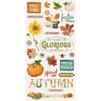 Simple Stories - Chipboard Stickers 6x12 - Autumn Splendor (UTS11219)