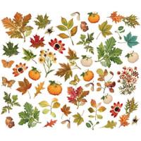 Simple Stories - Bits & Pieces Die-Cuts 49/Pkg - Autumn Splendor - Foliage (UTS11221)