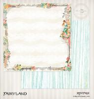 Blue Fern Studios - 2x12 dbl sided paper - Montage - Fairyland (4544365)