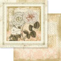 """Couture Creations - Double-Sided Paper 12""""X12"""" - Butterfly Garden - No1 (CO726528)"""