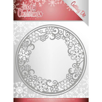 Find It Trading - Jeanine's Art - Lovely Christmas - Circle Frame (JAD10077)