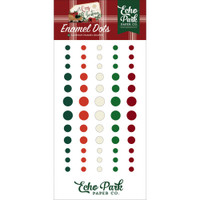 Echo Park - Decorative Enamel Dots - A Cozy Christmas (AC189028)