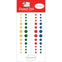 Carta Bella - Decorative Enamel Dots 60/Pkg - Merry Christmas (MC107028)