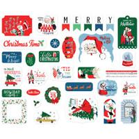 Carta Bella - Ephemera Die-Cuts 33/Pkg - Merry Christmas (MC107024)