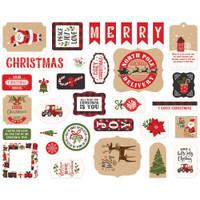 Echo Park - Ephemera Die-Cuts 33/Pkg - My Favorite Christmas (MF190024)