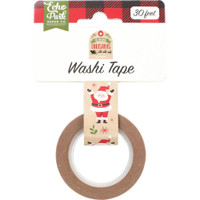 Echo Park - Washi Tape - My Favorite Christmas - Celebrate Santa (MF190026)