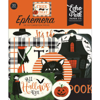 Carta Bella - Ephemera 33/Pkg - Trick Or Treat (TT186024)