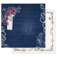 Prima Marketing - Double sided 12x12 Paper w/Foil Accents - Darcelle - Everything Is Figureoutable (DARC12 49467)