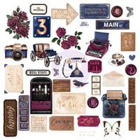 Prima Marketing - Darcelle - Cardstock Ephemera 39/Pkg (642020)