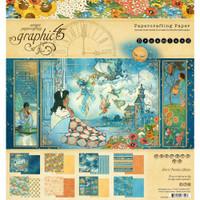 Graphic 45 - 8x8 Paper Pad 24/Pkg - Dreamland (G4501930)