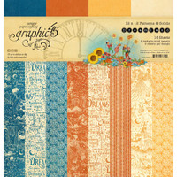 Graphic 45 - 12x12 Paper Collection - Dreamland - Patterns and Solids (G4501932)
