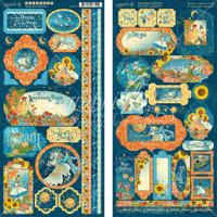 Graphic 45 - Stickers 2/Pkg 6x12 - Dreamland (G4501934)