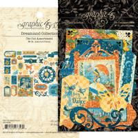 Graphic 45 - Ephemera Die Cut Assortment - Dreamland (G4501936)