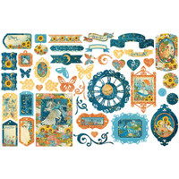 Graphic 45 - Ephemera Die Cut Assortment - Dreamland