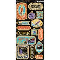 Graphic 45 - Chipboard Die Cuts 6x12- Life's Journey (G4501948)