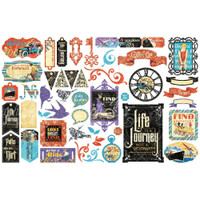 Graphic 45 - Cardstock Die Cut Assortment- Life's Journey (G4501951)