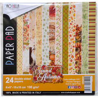 Ciao Bella - Double-Sided Paper Collection 6x6 24/Pkg - Sound of Autumn (CBQ023)