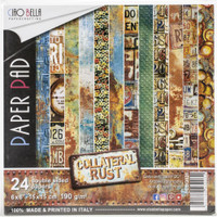 Ciao Bella - Double-Sided Paper Collection 6x6 24/Pkg - Collaterial Rust (CBQ026)