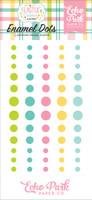 Echo Park - Adhesive Enamel Dots - 60/Pkg - Easter Wishes (EW174028)