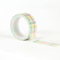 Echo Park - Decorative Washi Tape - Easter Wishes - Easter Plaid (EW174027)