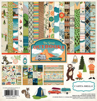 Carta Bella - 12x12 Collection Kit - The Great Outdoors (CBGO55016)