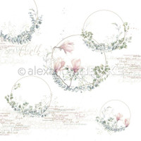 Alexandra Renke - Buckets Design Paper 12x12 - Wreaths In Circles (101223X)