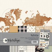 My Mind's Eye - Double sided Paper Collection 12x12 - My Heritage (HER111)