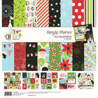 Simple Stories - Collection Kit - 12 X 12 - Say Cheese Christmas (SCC11500)